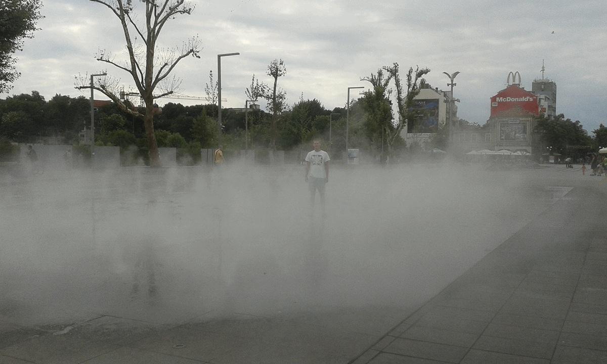 Kuumal päeval Burgases üks populaarsemaid kohti.