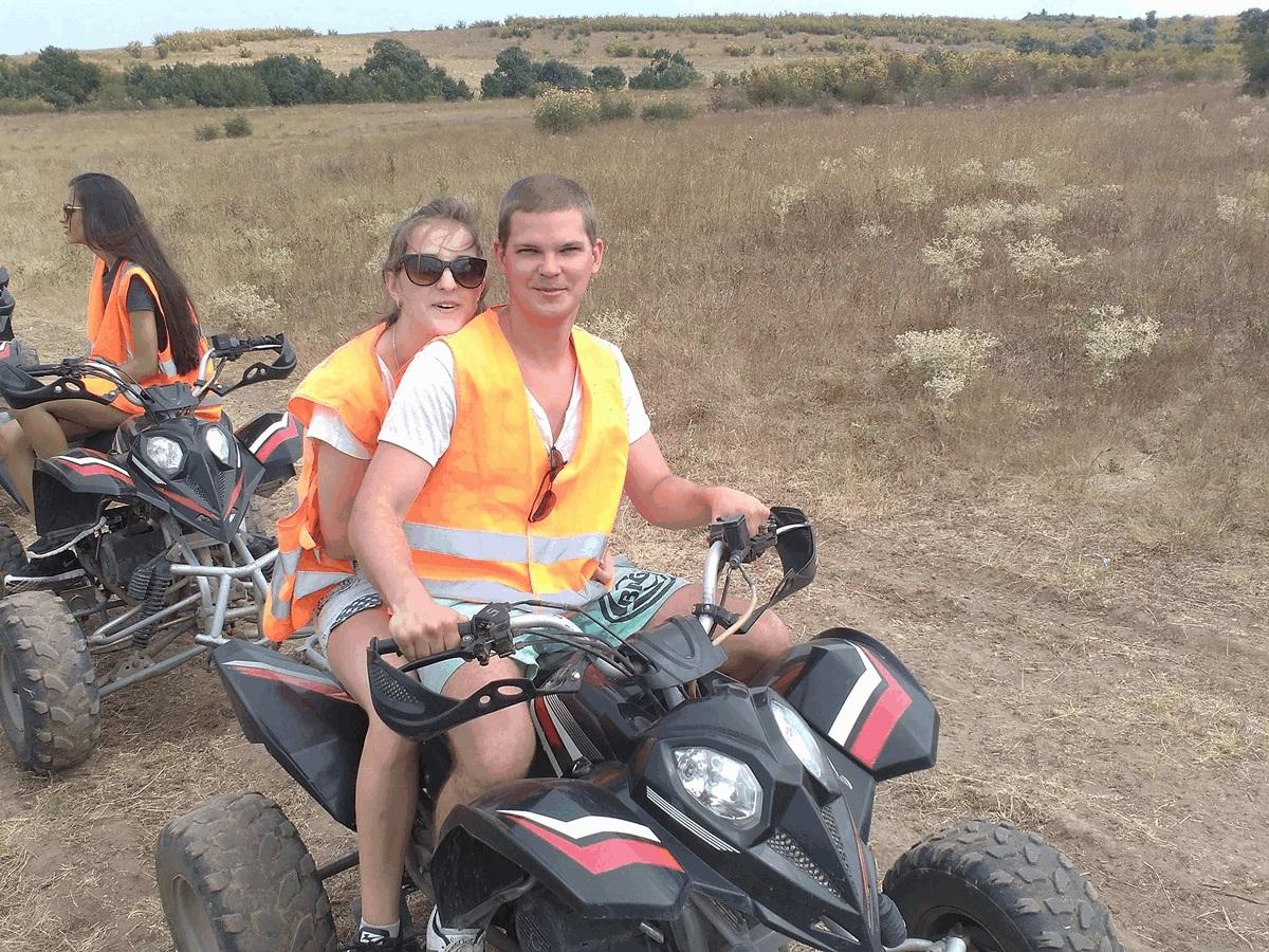 ATV-ga mäkkesõit oli minu jaoks esmakordne kogemus.