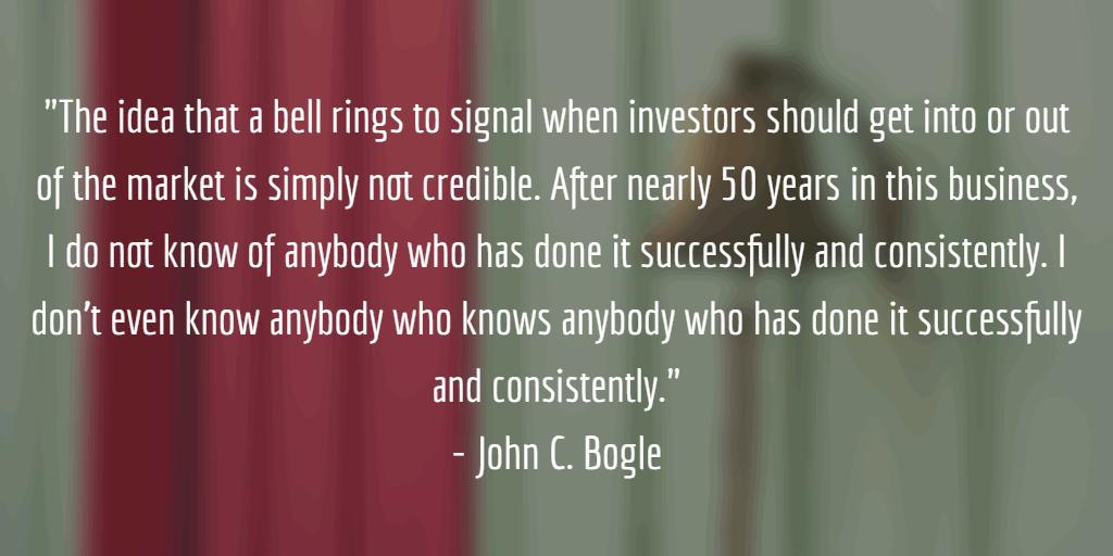 John C. Bogle turu ajastamine on mõttetu