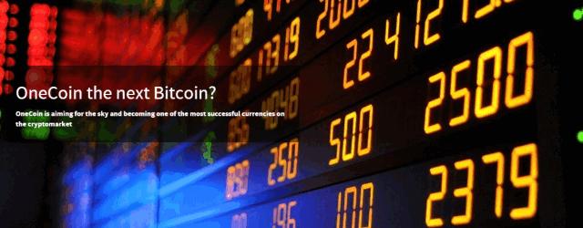 Onecoin väidab, et on tulevane Bitcoin