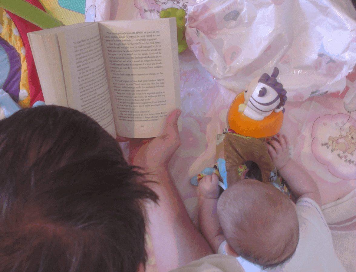 Juba varakult tuleb raamatuid lugeda.