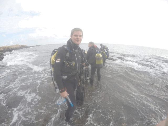 Taavi Pertman Gran Canaria sukeldumine