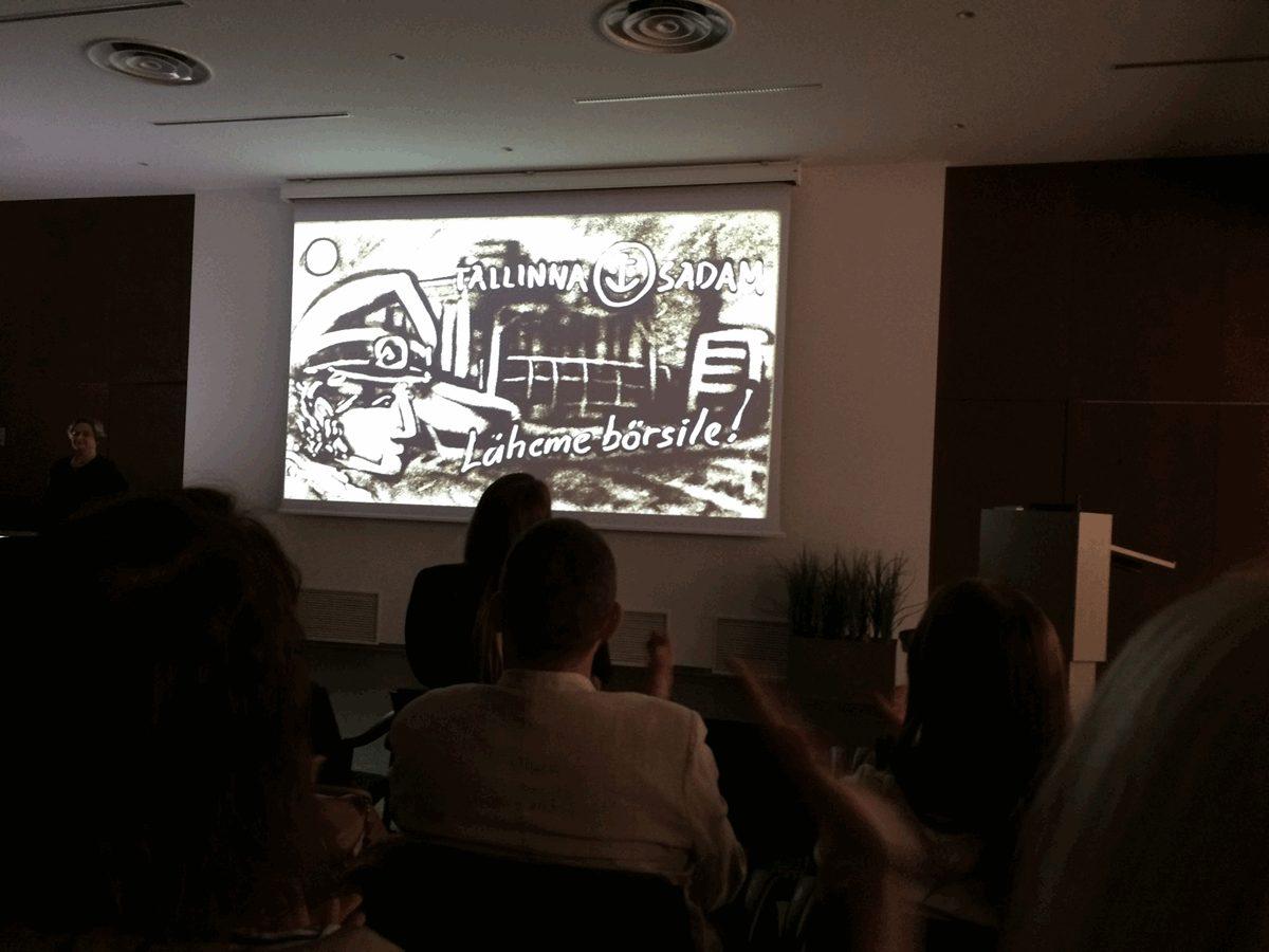 Tallinna Sadama külastus enne IPOt