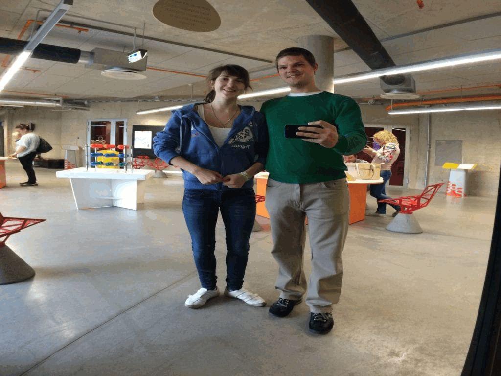 Tartu Ahhaa keskuse külastus Taavi ja Alina