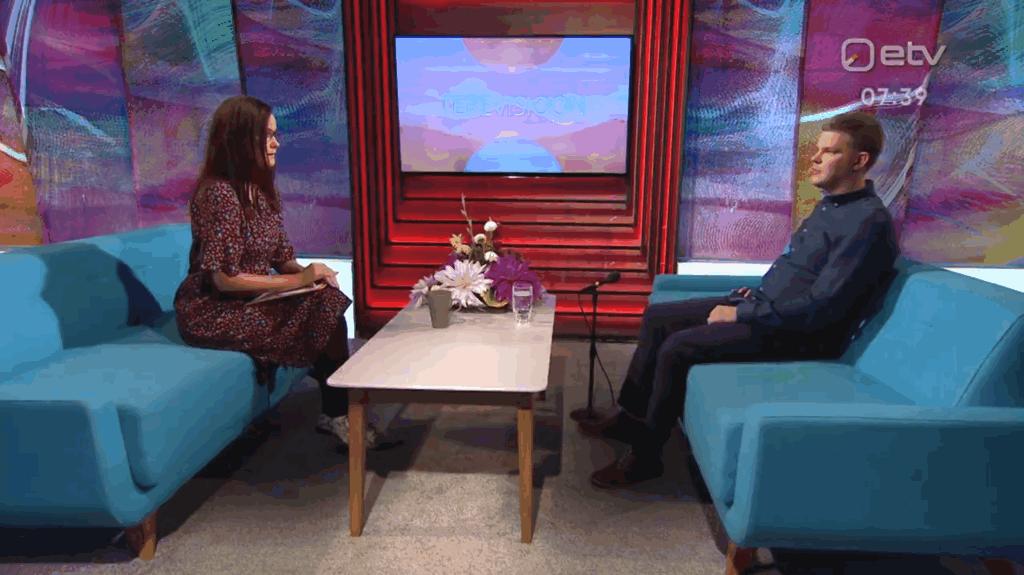 Taavi Pertman räägib Terevisioonis Kartin Viirpaluga investeerimisest