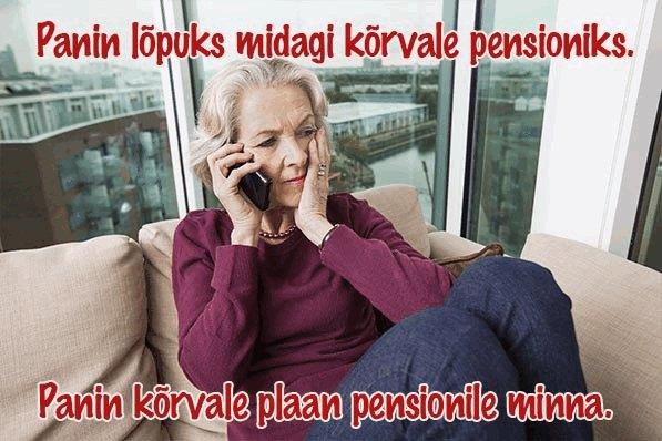 Väikesed Eesti pensionid