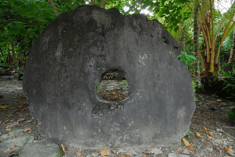 Yapi saartel rahana kasutatud Rai kivi