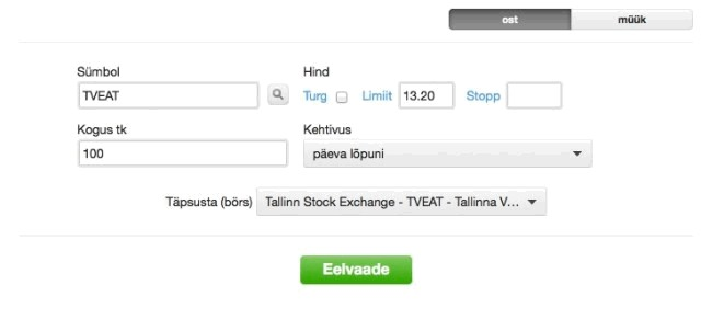 kuidas börsile investeerida