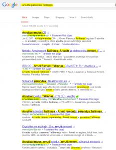 keyword research pealkirjad