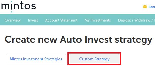 mintos auto invest custom strategy