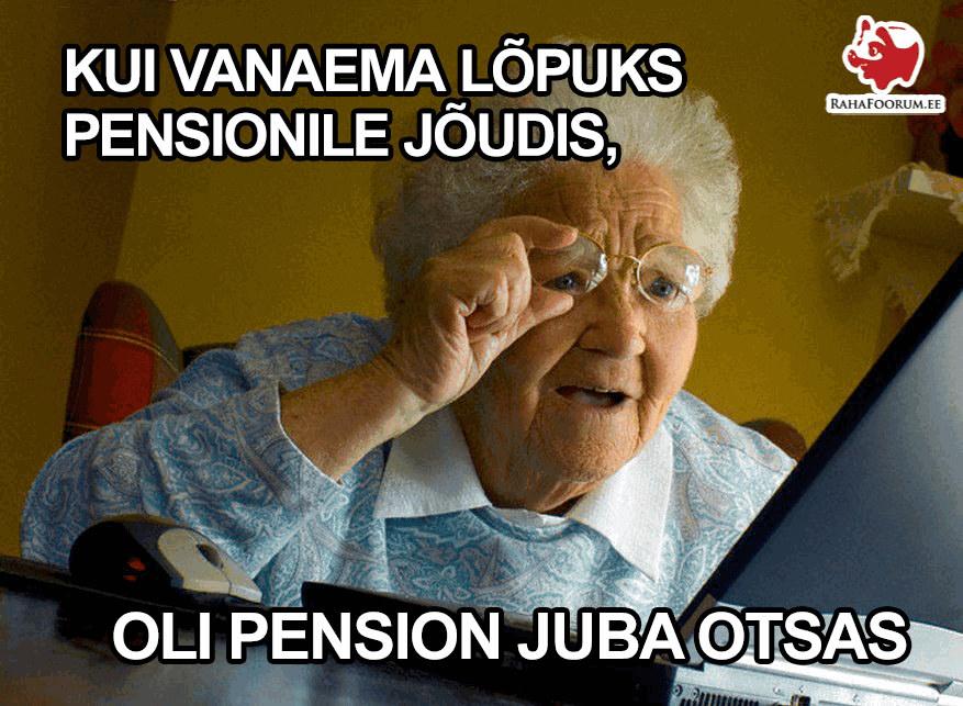 pensionifondide skeemitamise tõttu kaotavad tulevased pensionärid raha